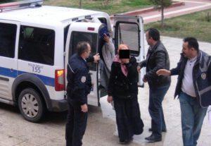 HIRSIZLIK ZANLISI KADINLAR POLİSTEN KAÇAMADI