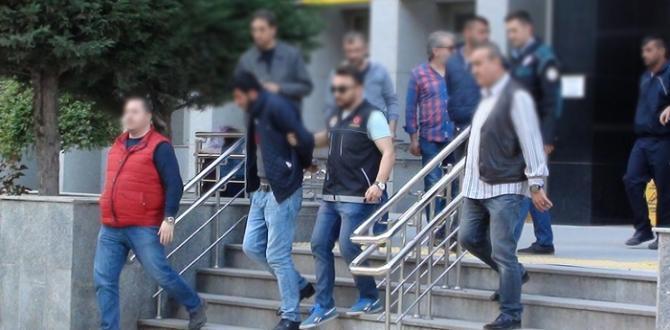 Çorum'da 3 kişi uyuşturucudan tutuklandı