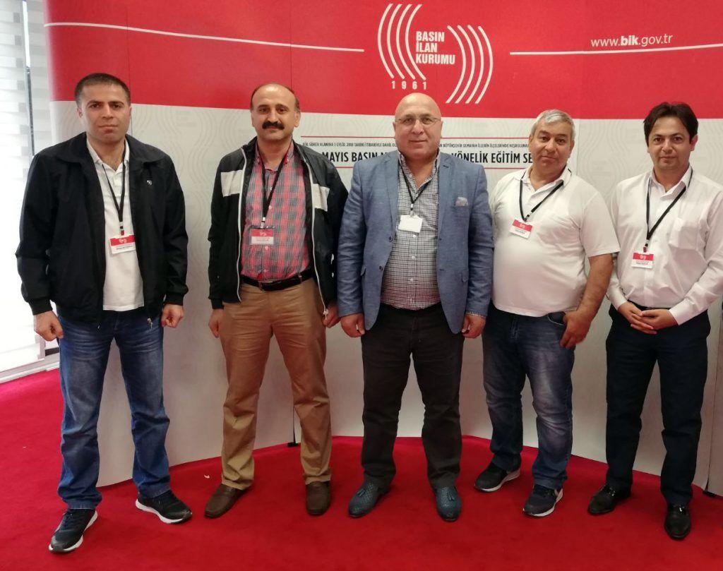 BİK'ten ilçe gazetelerinin çalışanlarına yönelik eğitim semineri