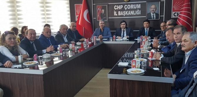 CHP'DE DANIŞMA KURULU TOPLANDI