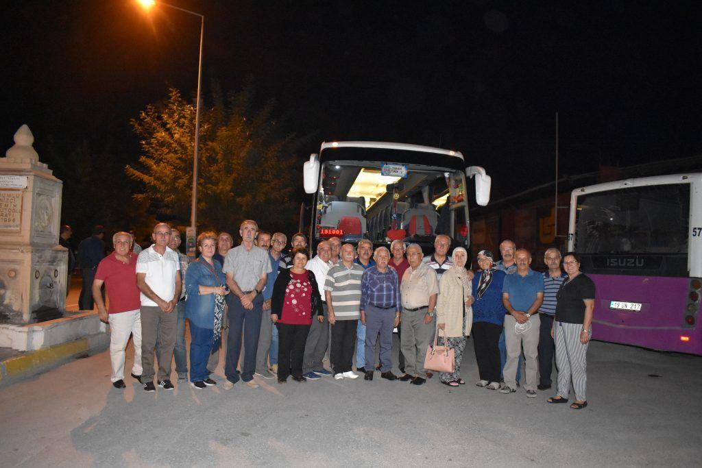 150 kişilik Çorum İlköğretmen Okullular 'GÜRE'de buluştu