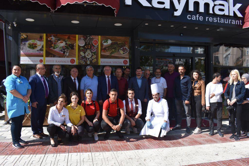 Kaymak Kafe'den Basına Kahvaltı jesti